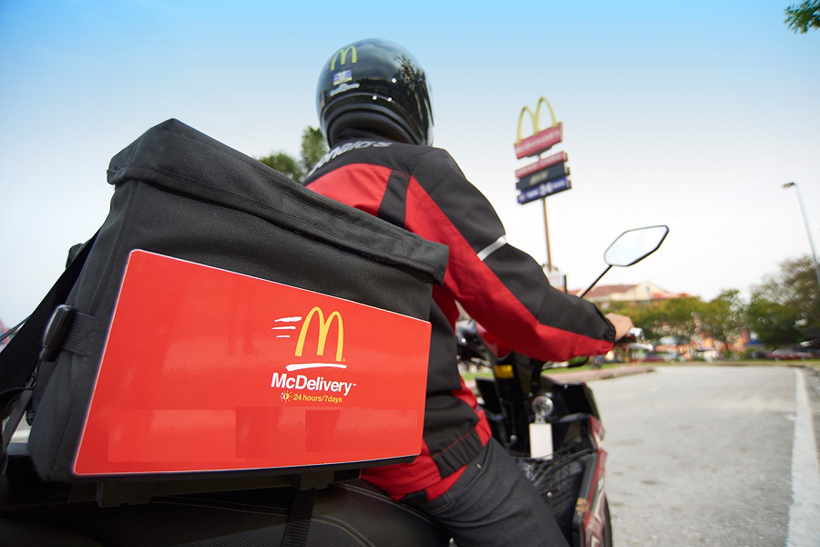 Go McDelivery For A Happy Meal